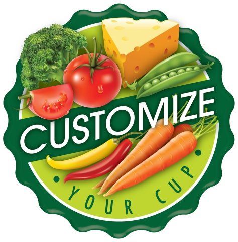 Customize Your Cup logo (Graphic: Business Wire)