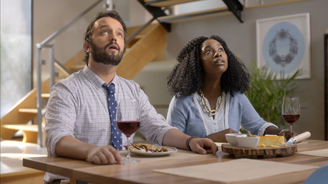 A couple searches for the perfect home with great acoustics, so they can finally communicate to one another in their language of choice – whale. For more information, visit www.trulia.com/trulihome