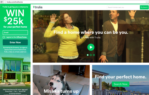 For more information, visit www.trulia.com/trulihome (Photo: Business Wire)