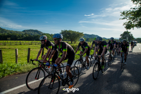 Equipo's Ultimate Challenge covered 500 miles in 5 days from Bogota to Cali, Colombia, climbing over ...