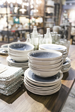 Tabletop Ceramics in the New Cost Plus World Market Chelsea New York Store (Photo & Cost Plus World Market® Grand Opens Its First New York City Location ...