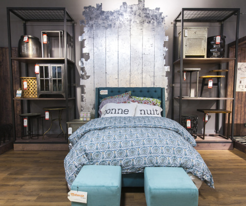 Cost plus world market grand opens its first new york for Home furniture plus bedding