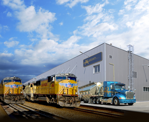 A&R Logistics Enters into Collaboration Agreement with Union Pacific (Photo: Business Wire)