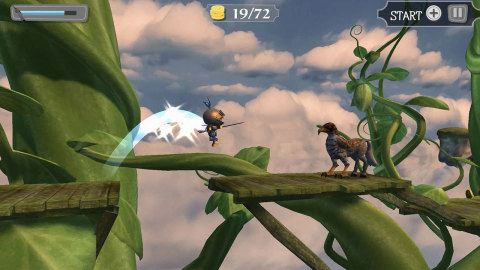 In Wind-up Knight 2, play as Sprint, the clockwork knight who just … can't … stop. (Photo: Business Wire)