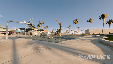 RISE TOGETHER IN NBA LIVE 16 PRO-AM (Photo: Business Wire)