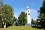 The First Parish Church Meetinghouse in historic East Derry, New Hampshire (Photo courtesy of First Parish Church)