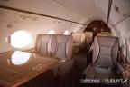 The Flexjet Gulfstream G450 interior. (Photo: Business Wire)