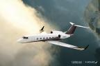 The Flexjet Gulfstream G450 exterior. (Photo: Business Wire)