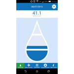 The new 30 by 30 mobile app allows users to track their daily water usage by selecting from a menu of common water-using activities, such as brushing teeth, showering and watering lawns. (Graphic: Business Wire)