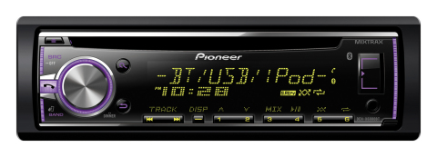 Pioneer DEH-X6800BT CD Receiver with Bluetooth. (Photo: Business Wire)