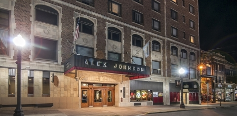 Hotel Alex Johnson is a distinct hotel exuding modern flare, while at the same time paying tribute to the unique history of the region. (Photo: Business Wire)