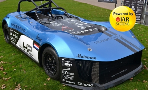 Tools from IAR Systems Enable Development of Innovative Hydrogen-Powered Racing Cars (Photo: Business Wire)