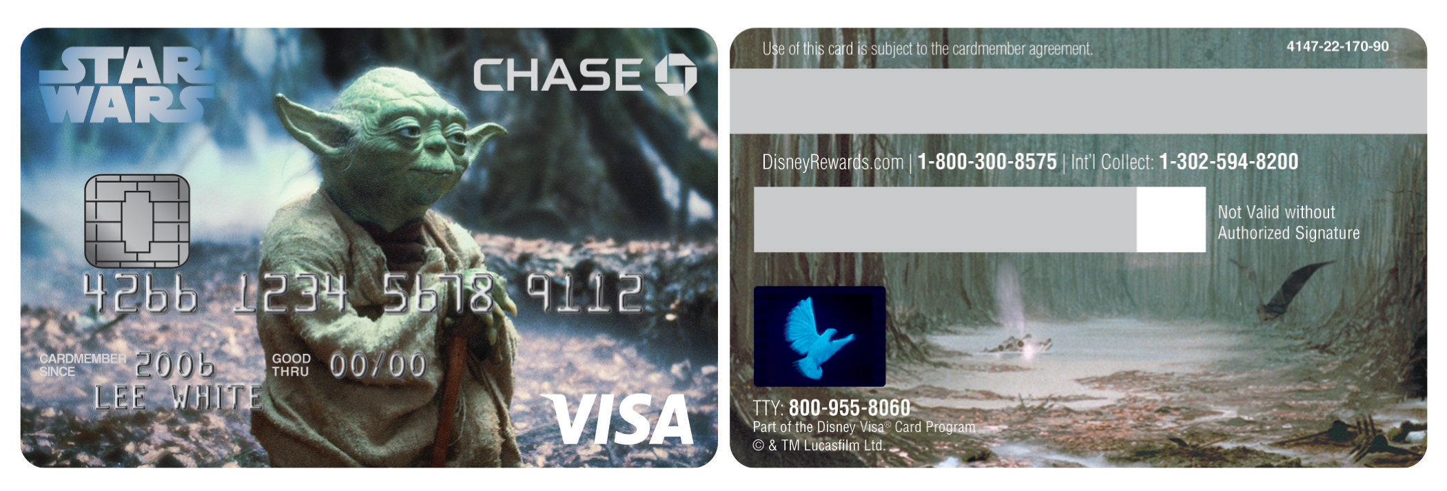 Adding multimedia star warstm comes to chase disney visa credit adding multimedia star warstm comes to chase disney visa credit cards business wire kristyandbryce Choice Image