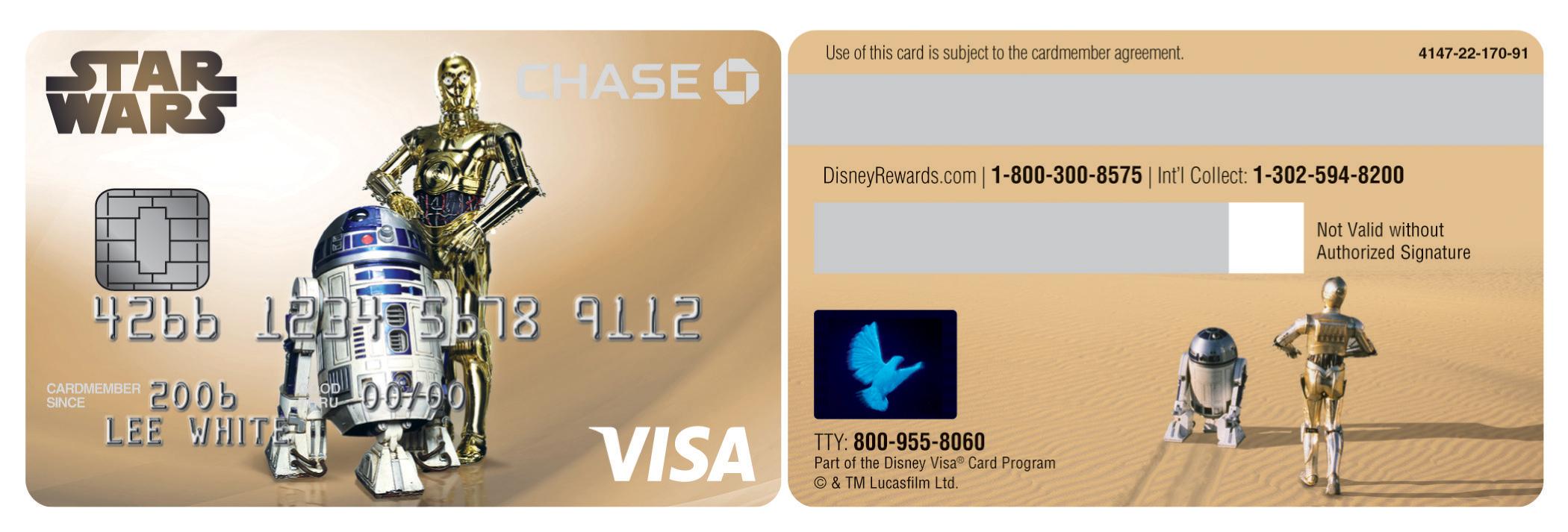 Visa Credit Card Back Re: Didn't ...