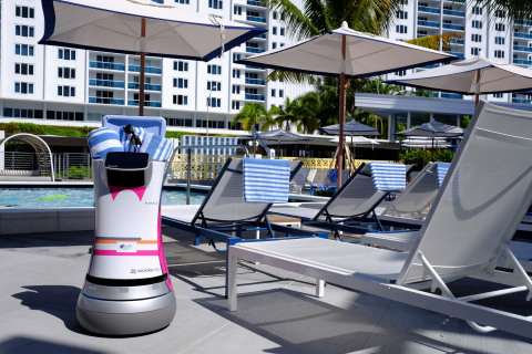 Botlr Reports for Duty at Aloft South Beach for Summer Stint (Photo: Business Wire)