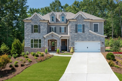 Ashbury Park's 3,783 sq. ft. Aberdeen II model features five bedrooms and four bathrooms. (Photo: Business Wire)
