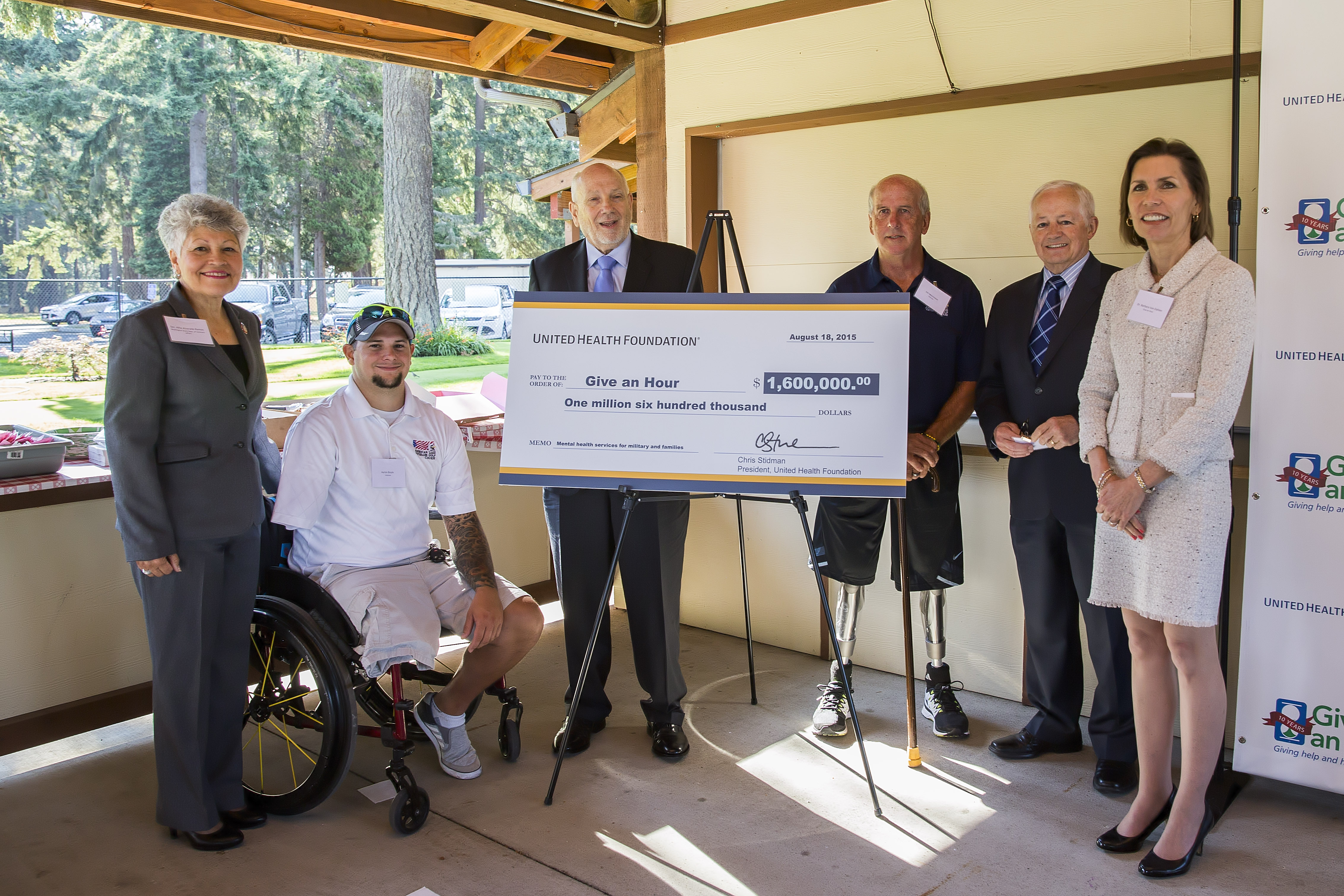 Give An Hour Receives 1 6 Million From United Health Foundation To