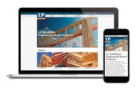 The updated layout and new user experience improve how quickly visitors can find what they need. The revamped navigation system offers simple menu dropdown features across the top of the page on desktop and an easy-to-use menu system on mobile. To experience the new Australian LP Building Products websites, visit LPCorp.com/AU or LPCorp.com/NZ. (Photo: Business Wire)