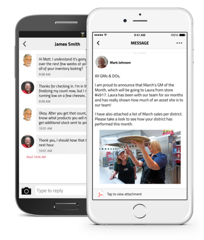 A single tool for employee messaging & engagement (Photo: Business Wire)