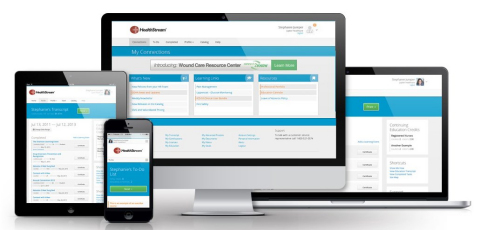 HealthStream New User Experience (Photo: Business Wire)