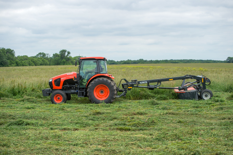 From hay production to farm and ranch chores to large property maintenance, the new Kubota M5-Series ...