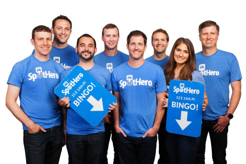 SpotHero Management Team Photo (Photo Credit: James Rand)