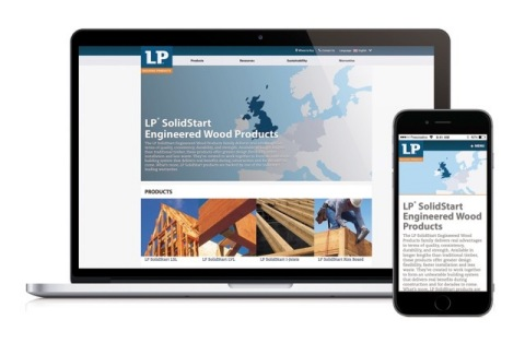 LPCorp.com/EU is available in four languages, including English, French, Dutch and German, and will ...
