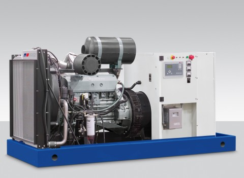 New MTU Onsite Energy compact generator sets from Rolls-Royce produce 80-200 kWe and feature Mercede ...