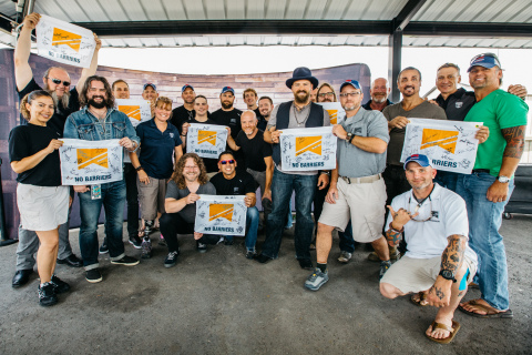 Wells Fargo and Zac Brown Band team up to promote Warriors to Summits and the wounded veterans the program is helping live a life of purpose. (Photo: Business Wire)