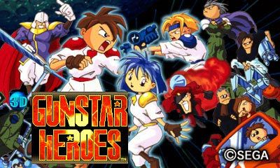 Treasure's visually stunning side-scrolling shooter, Gunstar Heroes, is now re-mastered in 3D! (Photo: Business Wire)