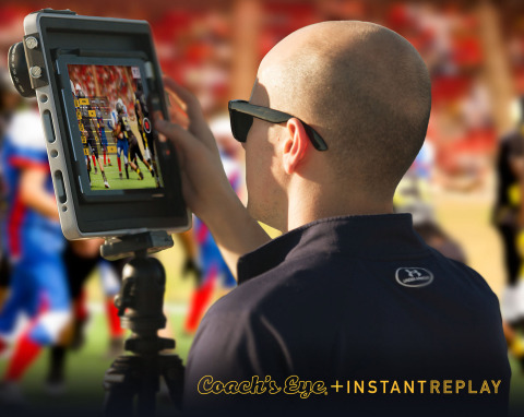 InstantReplay is a pure mobile, device-to-device, in-game video replay solution that works with smartphones and tablets used every day. (Photo: Business Wire).