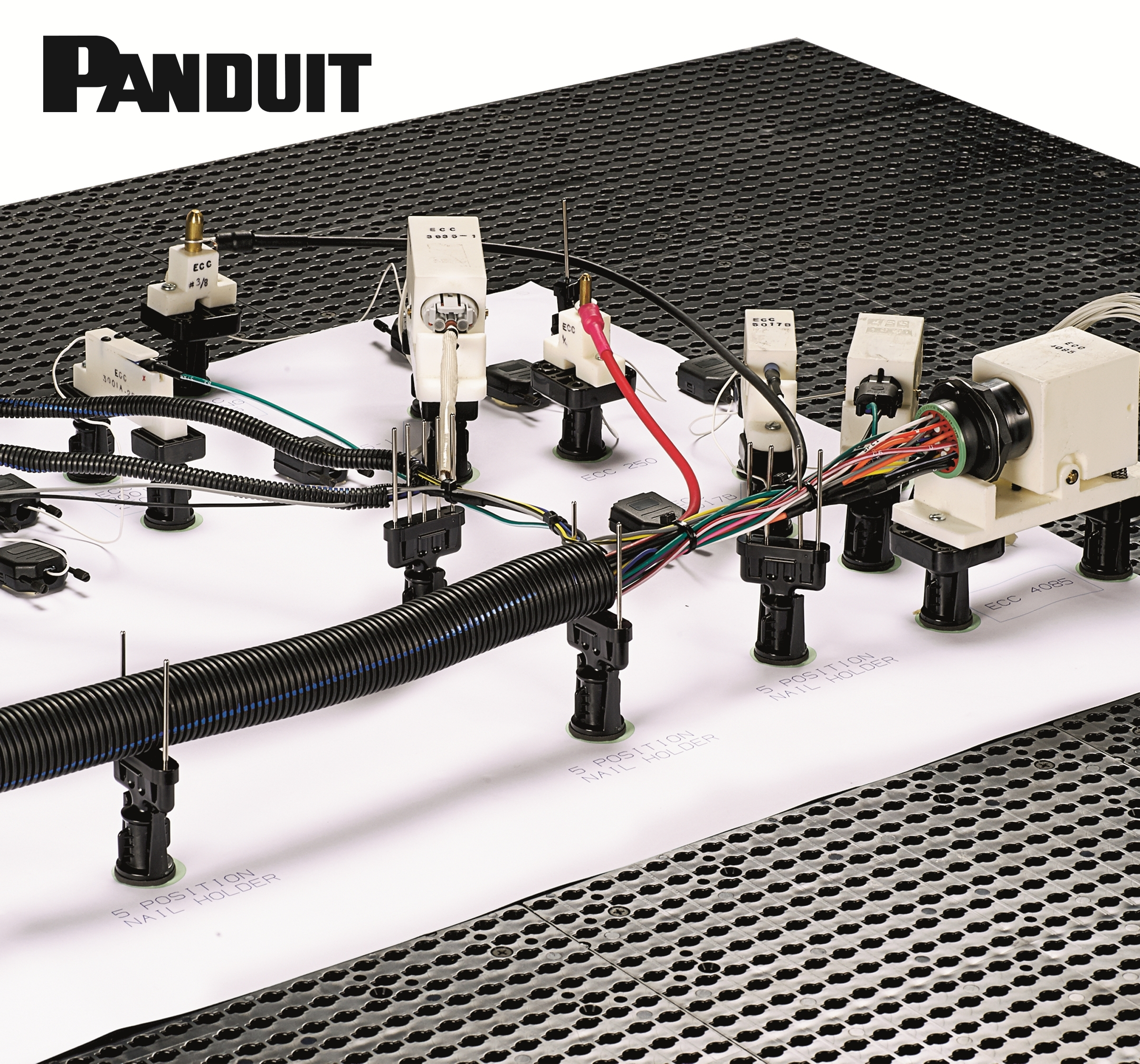 Game Changer for Wire Harness Manufacturers: Panduit Quick-Build™ Harness  Board System | Business Wire | Nail Board Wire Harness |  | Business Wire