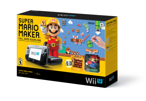 Super Mario Maker launches on the 11th of September at a suggested retail price of $59.99. (Photo: Business Wire)