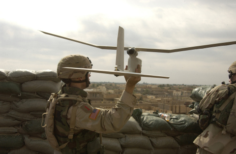 AeroVironment's RQ-11B Raven Small Unmanned Aircraft Systems (UAS) (Photo: Business Wire)