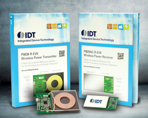IDT today introduced groundbreaking turnkey wireless power kits that make integrating wireless charg ...