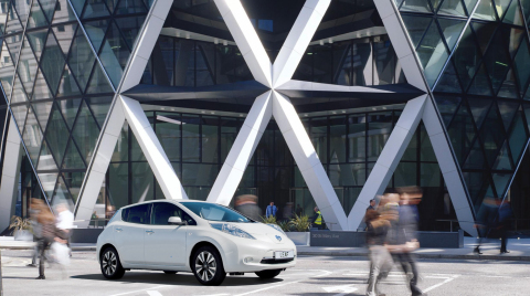 The Fuel Station of the Future: Nissan and Foster + Partners Charge Ahead with Bold New Vision (Photo: Business Wire)