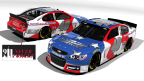 Snap Fitness and Hillman Racing Unveil Darlington Throwback Paint Scheme (Graphic: Business Wire)
