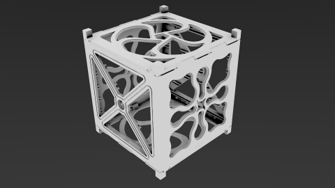 First place was Paolo Minetola for FoldSat, a design that uses geometries only possible with 3D prin ...