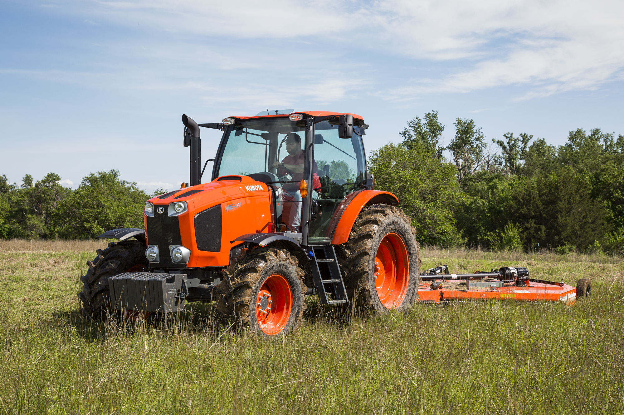 kubota introduces new m6 series utility tractor line with. Black Bedroom Furniture Sets. Home Design Ideas