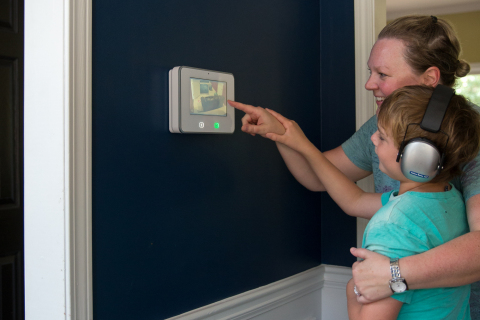 The Vivint SkyControl panel is the hub of the Vivint smart home experience (Photo: Business Wire)