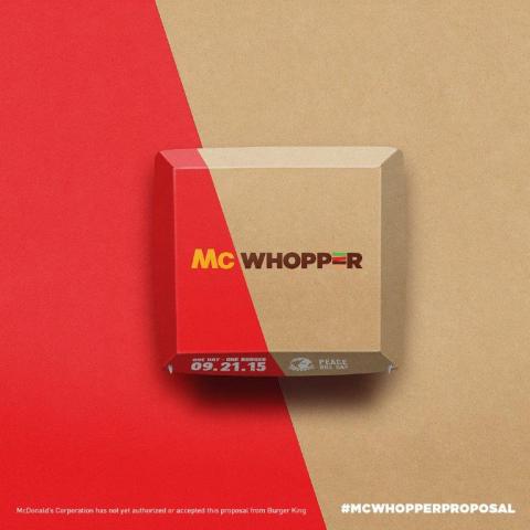 McWhopper Box (Photo: Business Wire)