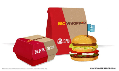 McWhopper Packaging (Photo: Business Wire)
