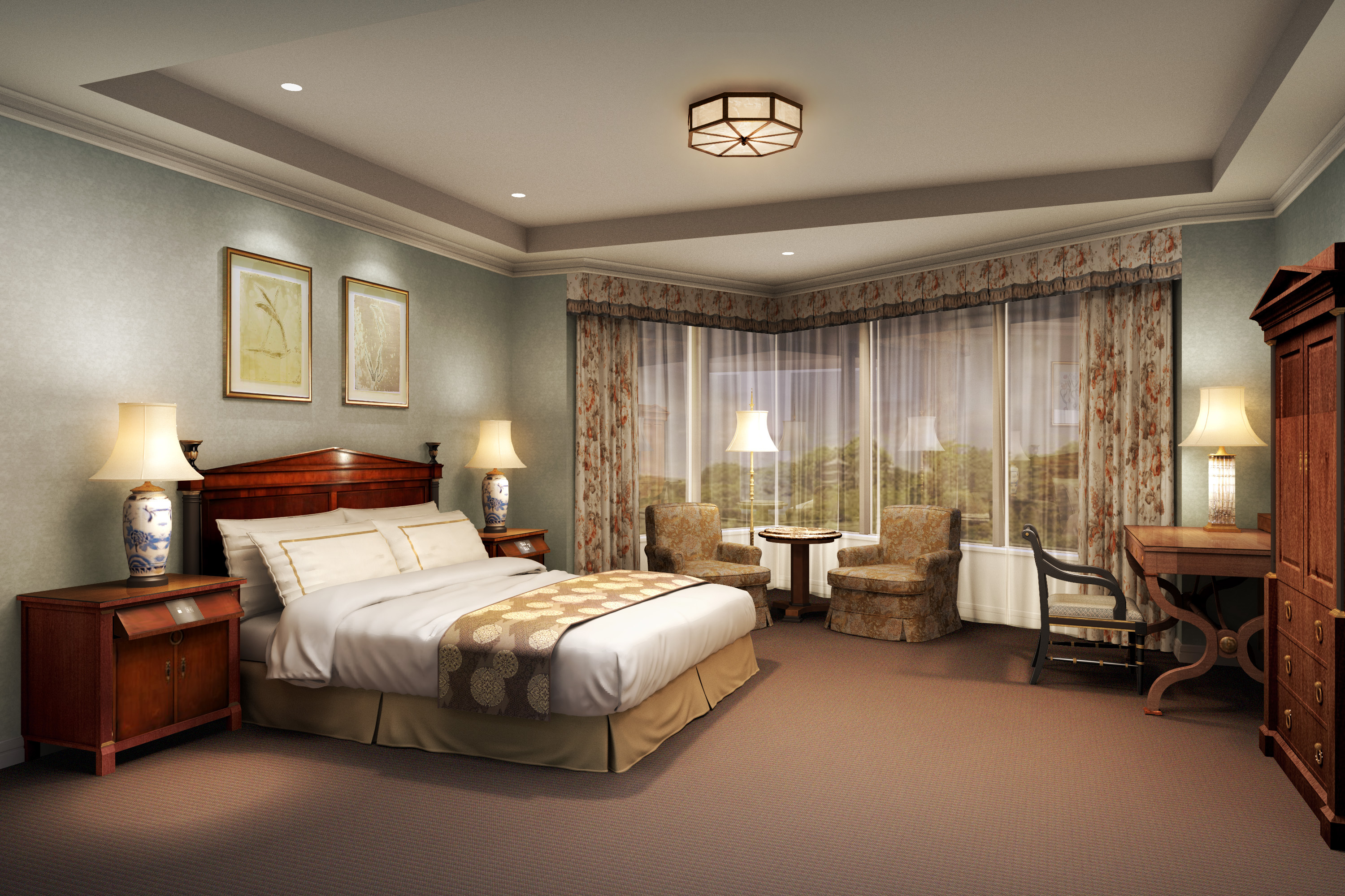 Newly Renovated Rooms At Hotel Chinzanso Tokyo Can Now Be Booked Business Wire