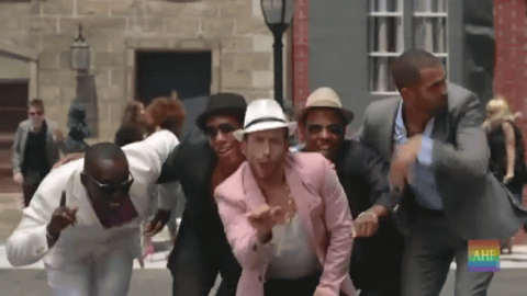 """""""Downtown Funk"""" music video parody by AIDS Healthcare Foundation (AHF)(Photo: Business Wire)"""