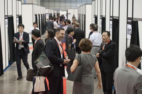 BioJapan 2014 - Partnering Area (写真:ビジネスワイヤ)