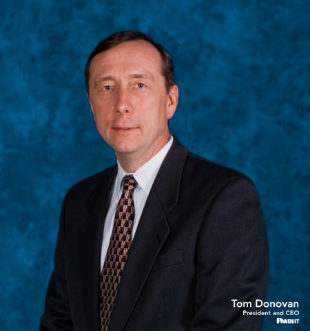 Tom Donovan - President and CEO, Panduit (Photo: Business Wire)