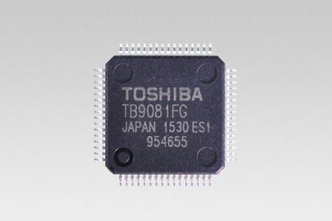 "Toshiba: a brushless motor pre-driver IC ""TB9081FG"" for electric power steering systems(EPS) (Photo: ..."