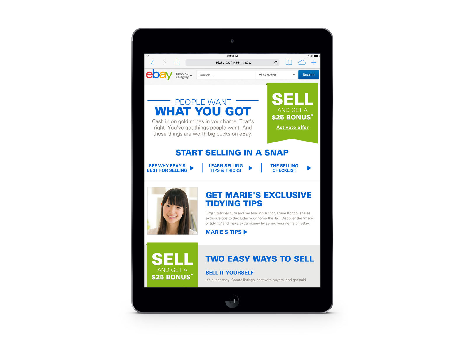 Ebay Partners With Organizational Guru Marie Kondo To Create An Exclusive Guide For Parents And Kids Seeking New Ways To Tidy Up The Home Business Wire