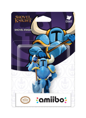 For the first time, exclusive to the Wii U version of the game, players can scan the Shovel Knight amiibo and take on Shovel Knight's quest cooperatively with a friend. (Photo: Business Wire)