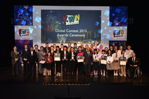 KWN Global Contest 2015 Awards Ceremony in Singapore (Photo: Business Wire)